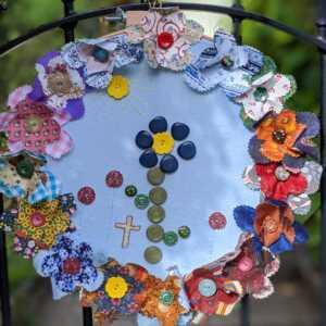 Flowers on the Doors Festival 2020, Sundridge Road, Ide Hill